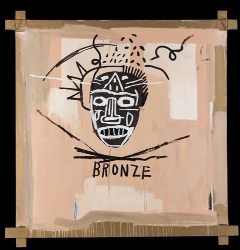 Jean-Michel Basquiat - BRONZE, 1982