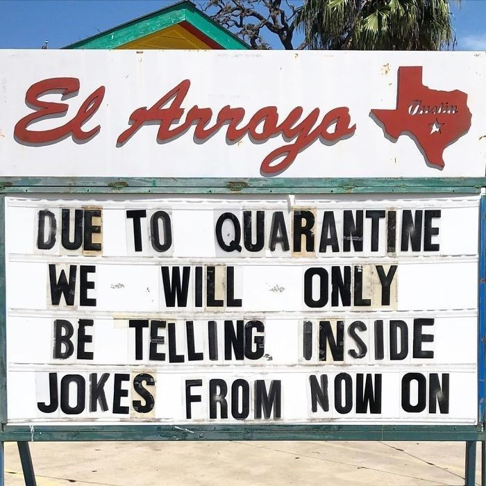 39 El Arroyo Signs Filled With Sass And Dad Humor Dad Humor Funny Signs Humor