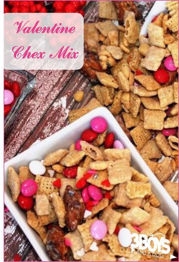 valentine chex mix recipe chex mix recipes and chex mix