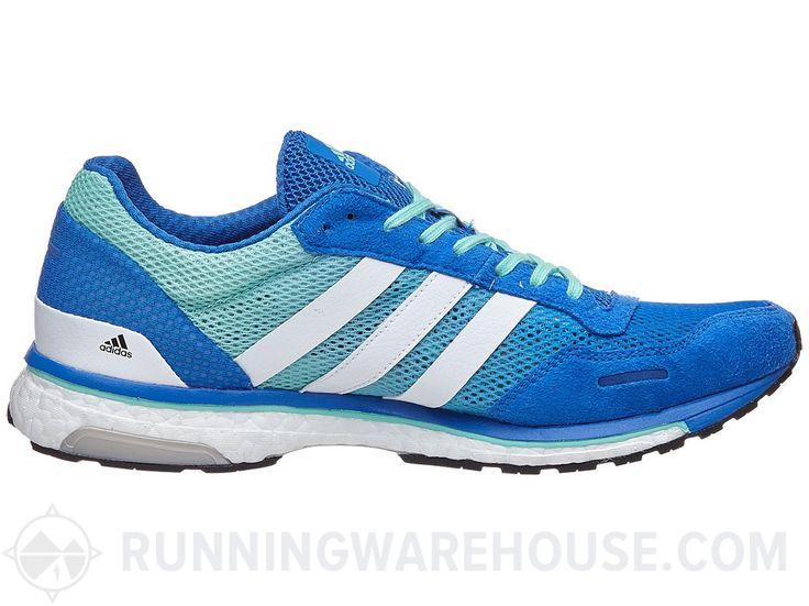 adidas adizero adios Boost 3 Men's Shoes Blue/White/Grn