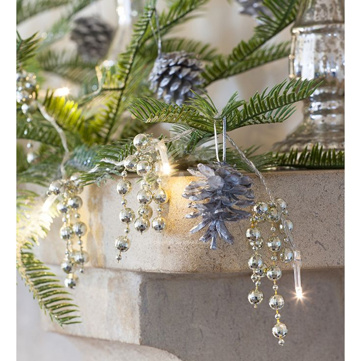 Buy chandelier lights from sarah raven a brilliant combination of lights sparkling trailing droplets for your mantelpiece along a windowsill or table