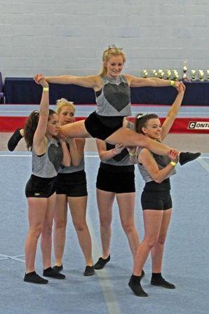 Easy Cheer Stunts for Kids http://www.ashbyschool.org.uk/content
