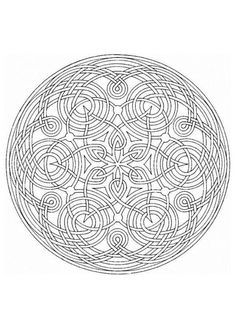 Free Mandala Coloring Pages For Stress Relief And