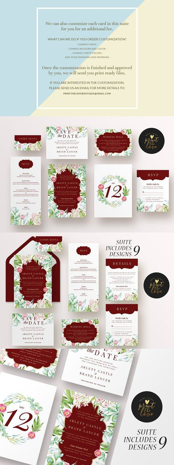 wedding card backgrounds vectors%0A Wedding Invitation Suite  Majestic  Wedding Card Templates
