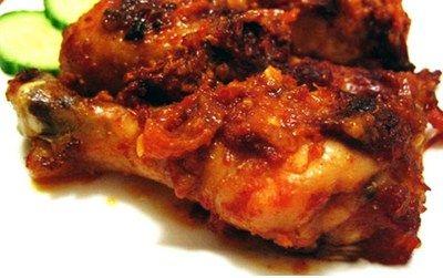 Resep dan cara membuat ayam bakar bumbu rujak - http://www.juraganresep.com/resep-ayam-bakar-bumbu-rujak/