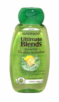 GARNIER ULTIMATE BLENDS SHAMPOO 250ML THE SHINE REVITALISER