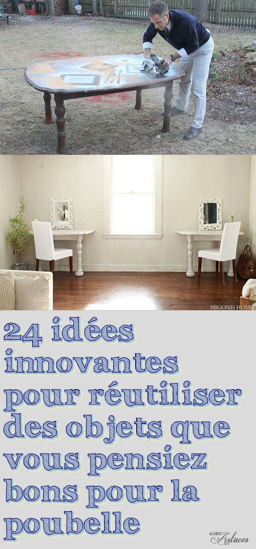 24 idées innovantes pour réutiliser des objets que vous pensiez bons pour la poubelle