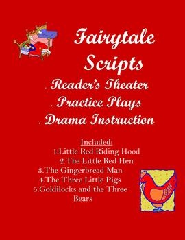 Short and simple fairytale scripts for reader's theater, drama, etc