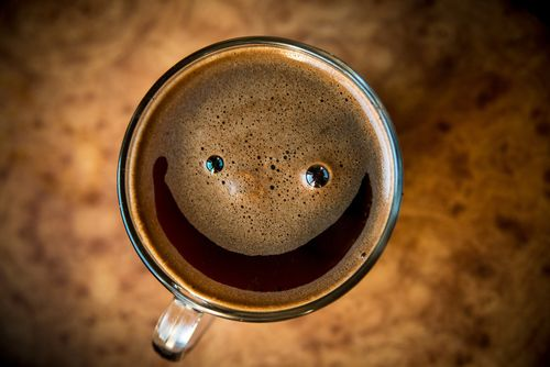 Smile! It's coffee time