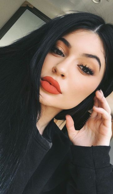 Kylie Jenner ♥ lip color