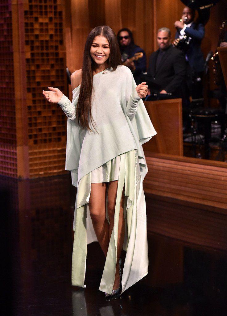Zendaya at 'The Tonight Show Starring Jimmy Fallon' in NYC 6/20/17