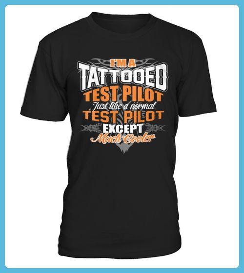 Best IM A TATTOOED TEST PILOT SHIRTS back Shirt (*Partner Link)