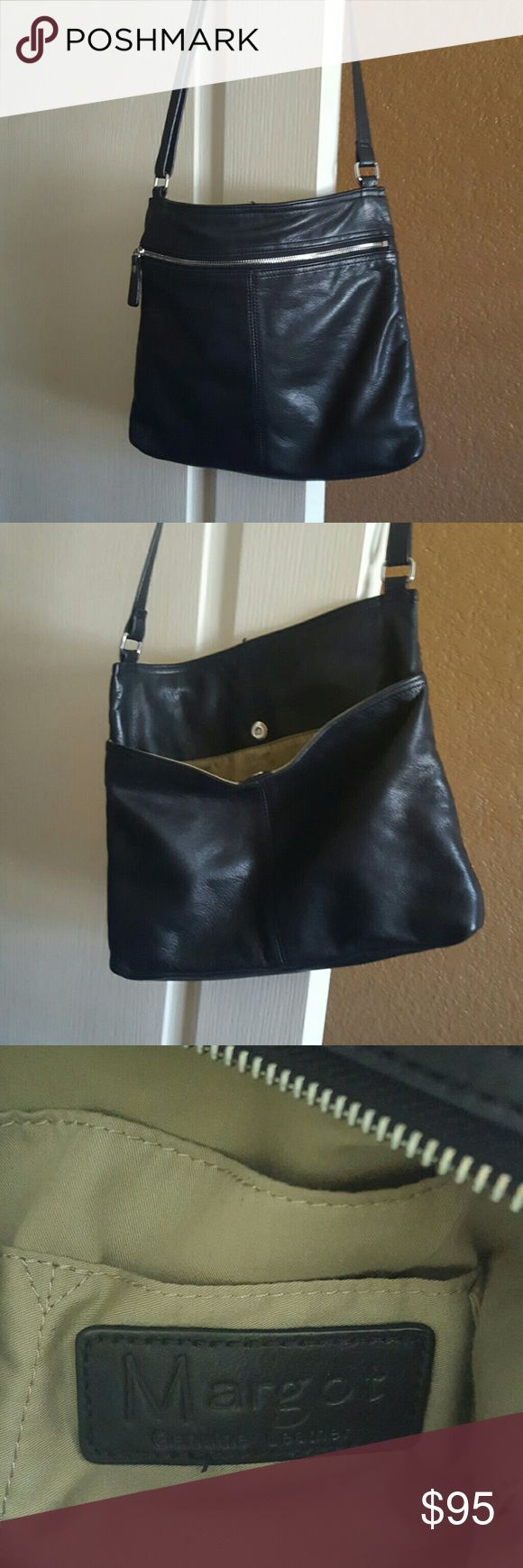 Leather Purse 13x11 crossbody leather purse margot Bags Crossbody Bags