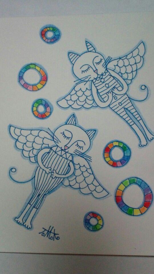 Cats angel