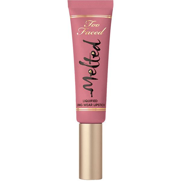 Too Faced Melted Liquified Long Wear Lipstick, Melted Chihuahua 0.4 oz... ($21) ❤ liked on Polyvore