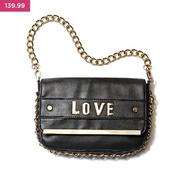 Wear your heart on your handbag!  Part of the LUV DR accessories range.
