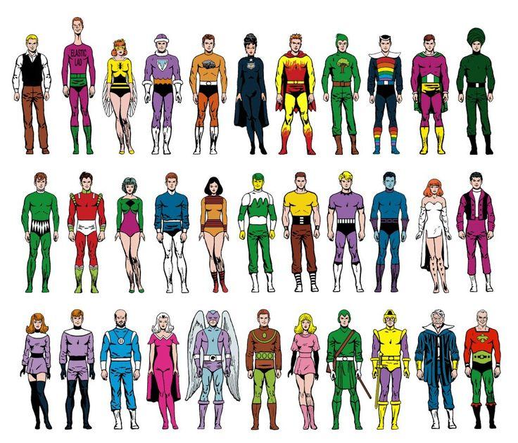 матицу имена супер героев к картинке многообразие