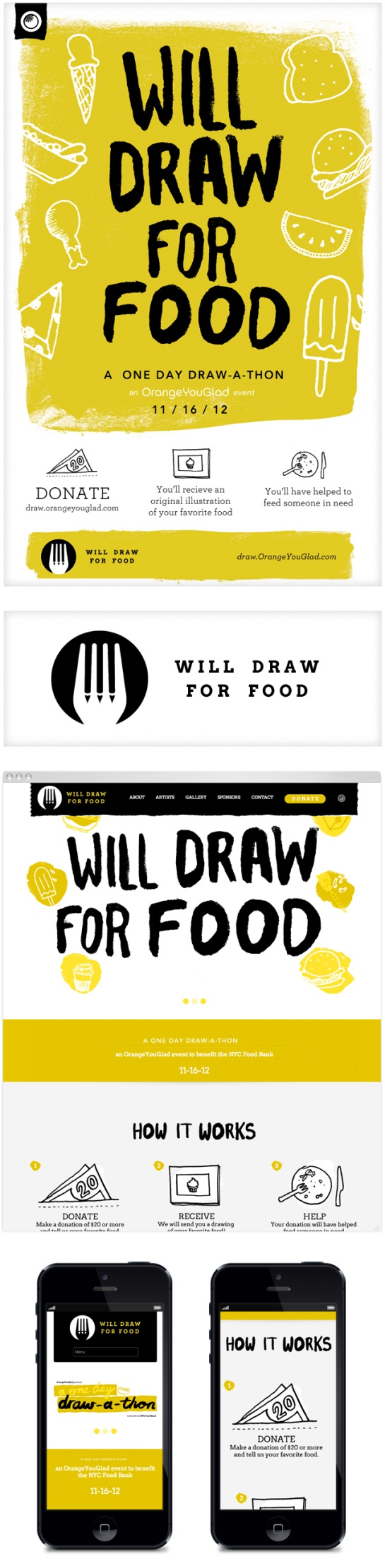 OrangeYouGlad – Will Draw For Food