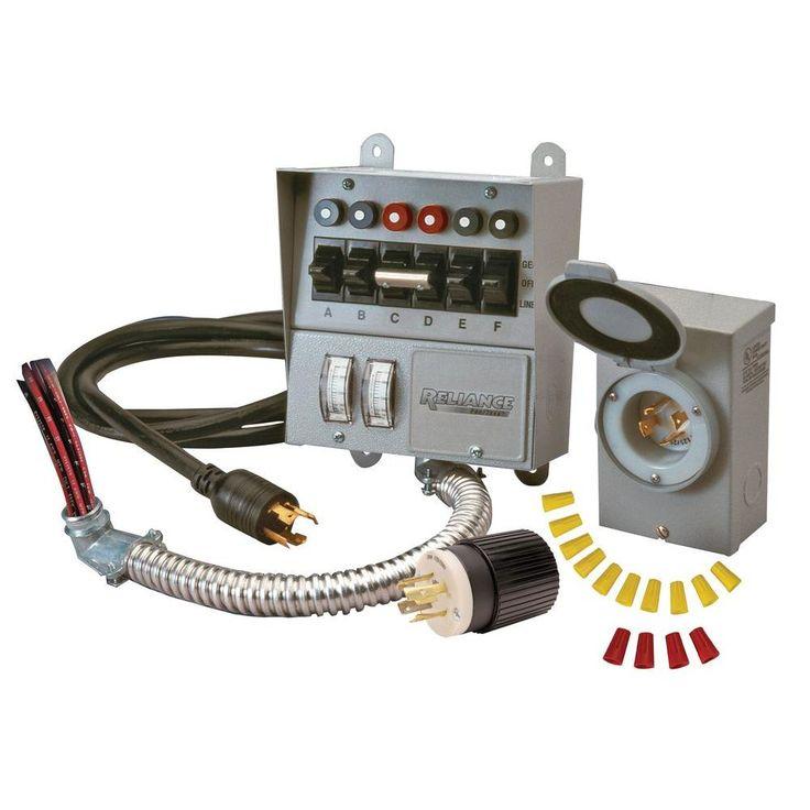 Reliance Controls 30 Amp 250Volt 7500Watt NonFuse 6