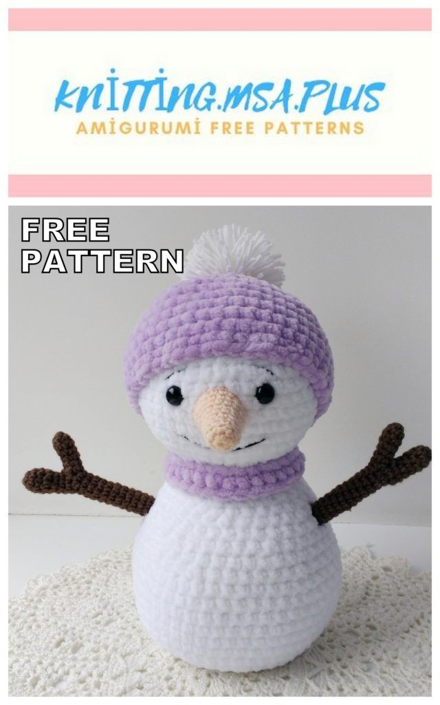 Amigurumi Crochet patterns Snowman doll and Christmas tree DIY ... | 1024x640