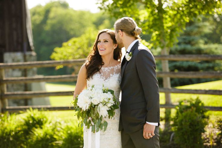 Stunning Photo by Darlington Studios at the RedCrest Barn