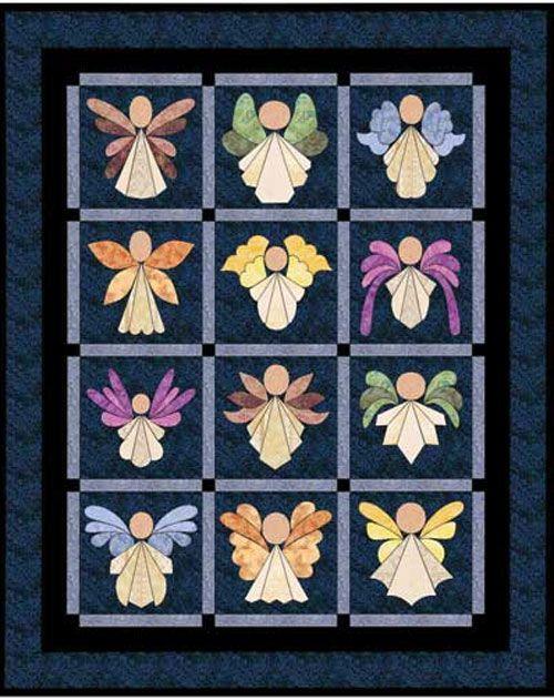 Angels Quilt Pattern https://www.anniescatalog.com/detail.html?prod_id=97572&source=fcebkaa