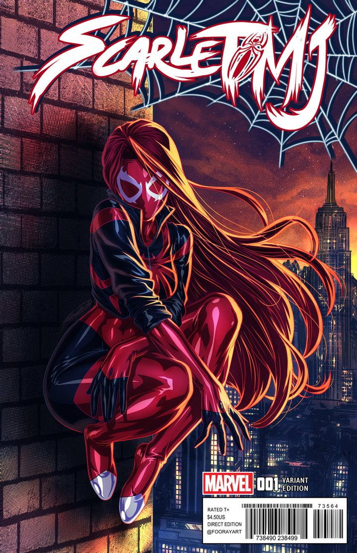 Scarlet Spider MJ by FooRay on DeviantArt