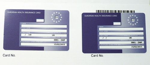 European Health Insurance Card  Remember that we gather everything regarding Insurance Companies.  http://www.insurancecompanieslist.org