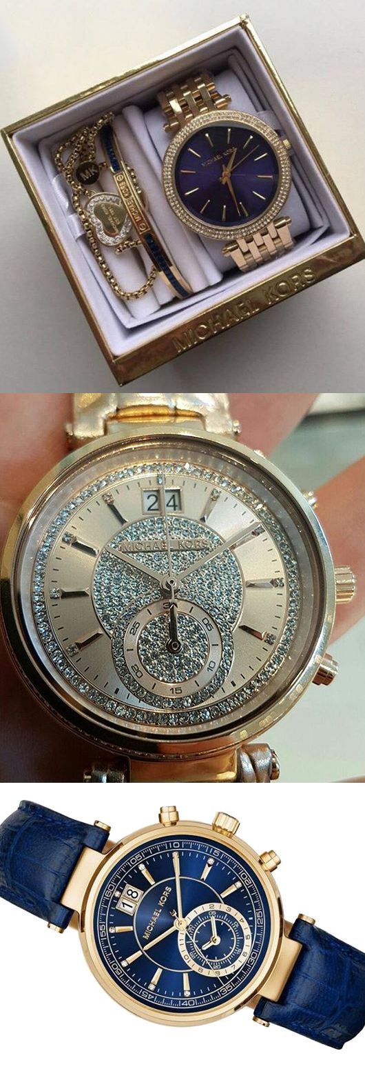 Наручные часы Michael Kors подойдут к любому образу.
