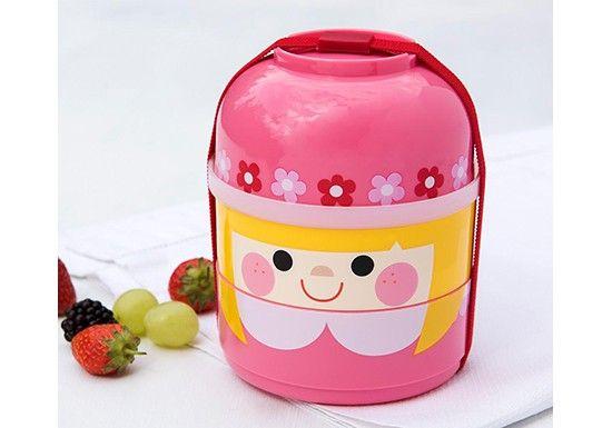 Bento box Rosie  Bento composé de 2 compartiments, d'un bol, et d'un élastique pour le fermer. Une boîte pour emporter son déjeuner, goûter...   Cet article est adapté pour le contact alimentaire Ne convient pour un usage au lave vaisselle Non adapté au micro ondes Ne contient pas de BPA  Dimensions : 11 x 11 x 13,5 cm