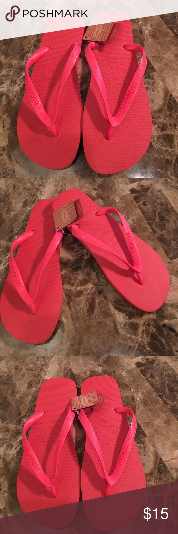 New Havaianas Ruby Red Rubber Flip Flop Shoe 43-44 Size 43-44 Ruby Red Flip Flops Shoes. Brand new with tags. Havaianas Shoes Sandals & Flip-Flops