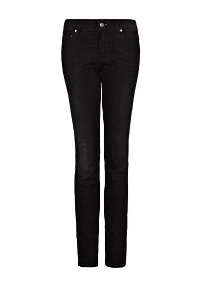 MANGO - SLIM-FIT BLACK JEANS