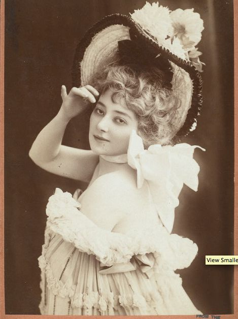 A divina Anna Held …   – Edwardian women