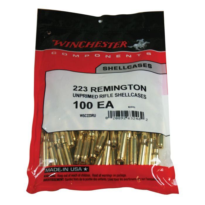 Winchester Reloading Brass 223 Remington (Bag of 100)