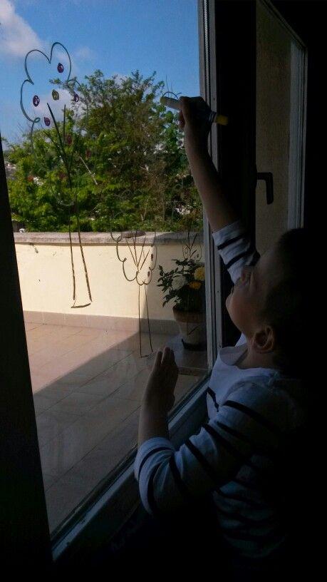 Meseerdő ablakra