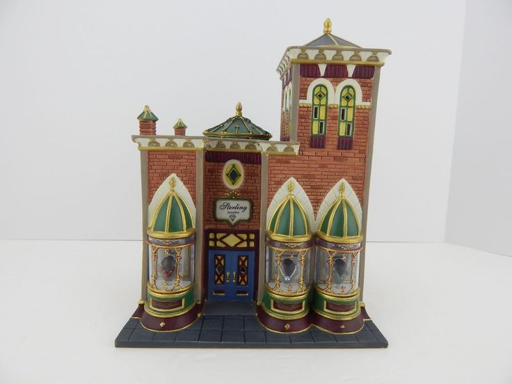Dept 56 Christmas in the City Sterling Jewelers #58926 Good Condition #Dept56