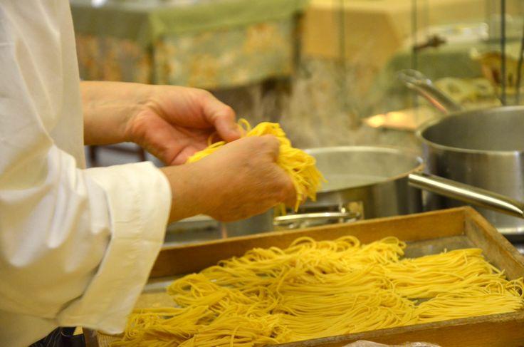 Al Dolomiti prepariamo tutto in casa... a cominciare dalla pasta!