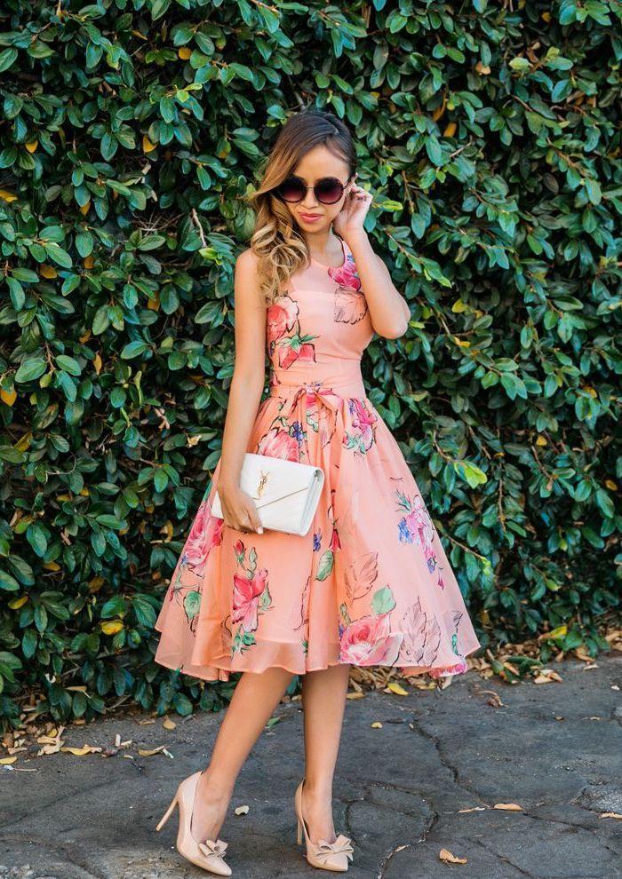96d8316d8f S'habiller bien pour le mariage d une amie robe champetre élégante robe  vintage courte