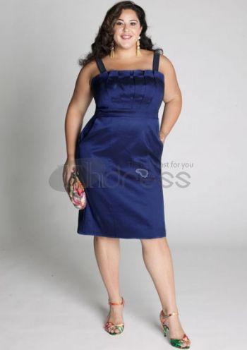 Plus Size Evening Dresses-plus size evening dress Cybelle Cocktail Dress in Royal