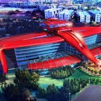 Artists Impression of the First Ferrari Hotel