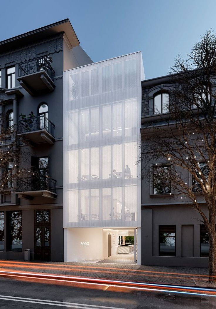 Glass Infill Photo Gallery: Townhouse Designs, Architecture Design, Architecture