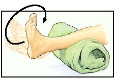 Foot and ankle exercises: Ankle Circles. Stupid broken ankle that never heals...