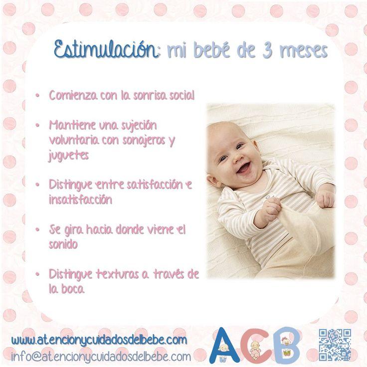 19 mejores im genes de estimulaci n temprana para beb s y ni os en pinterest embarazo - Estimulacion bebe 3 meses ...