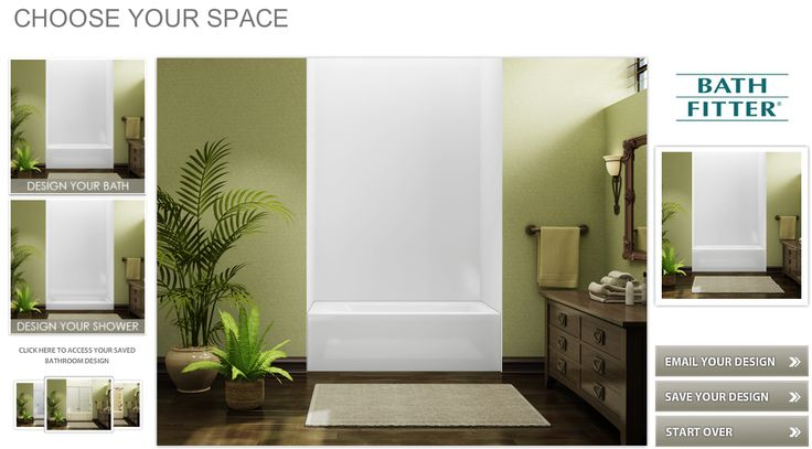 Design Your New Bath Or Shower Right From Your Computer
