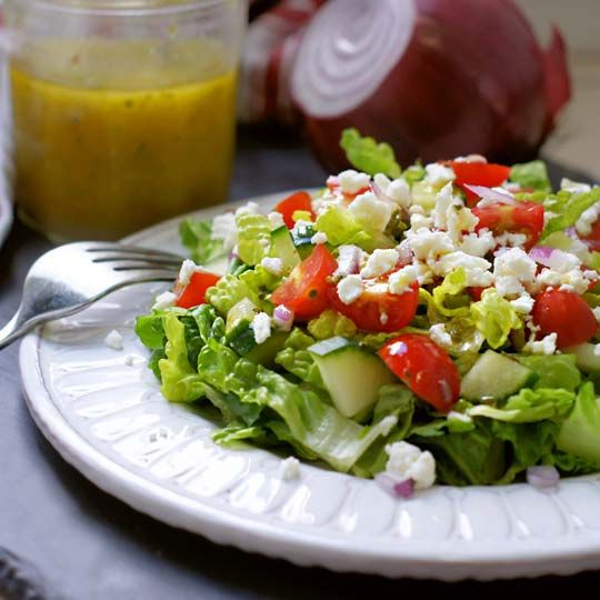Classic Greek Salad Dressing | Detoxinista