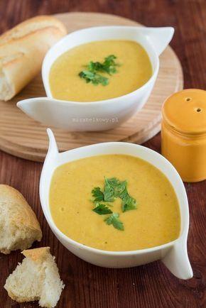 Mirabelkowy blog: Zupa krem z żółtej fasolki szparagowej i pietruszki