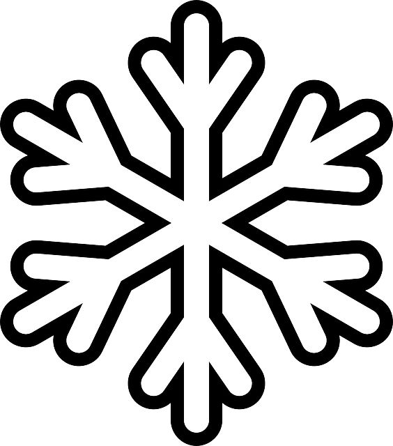 Print Snowflake Out Kindergarten And Cut Templates