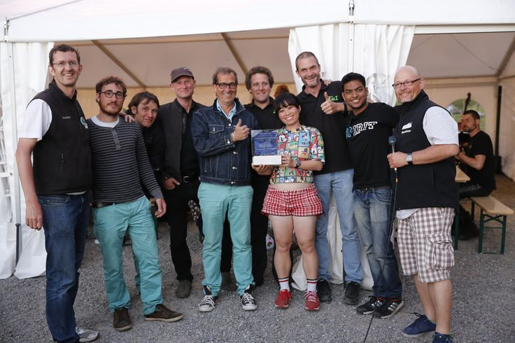 sharing the third prize in the motorcycle category at WAVE 2014, with French team Souris vertes