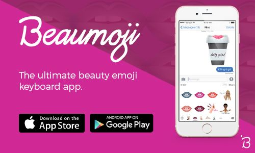 Introducing Beaumoji, the ultimate beauty emoji keyboard! For all your beauty moments, we've got the new emoji app for you: Beaumoji.