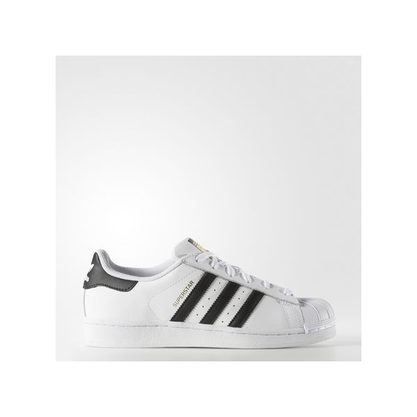 adidas Superstar Shoes White (£65) ❤ liked on Polyvore featuring shoes, adidas shoes, adidas, adidas footwear and white shoes